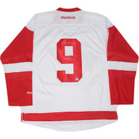 "GORDIE HOWE Autographed ""Mr. Hockey"" Red Wings White Jersey STEINER"