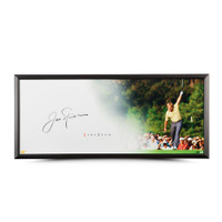 "JACK NICKLAUS Autographed Show ""The Putt"" Framed Display Piece UDA"
