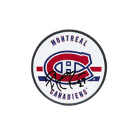 PATRICK ROY Autographed Montreal Canadiens Acrylic Puck UDA