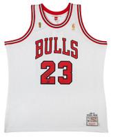 MICHAEL JORDAN Autographed 1997 Bulls Home Authentic Finals Jersey UDA LE 123