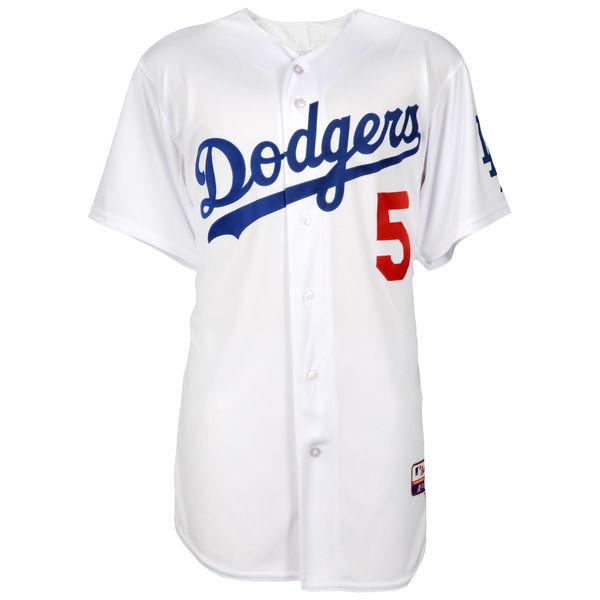 best service 757c0 e7da3 COREY SEAGER Los Angeles Dodgers Autographed White Authentic Jersey FANATICS