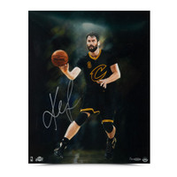"KEVIN LOVE Autographed ""INTENSITY"" 16 x 20 Photo UDA LE 30"