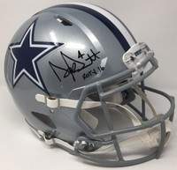 "DAK PRESCOTT Signed / Inscribed ""ROTY 16"" Authentic Helmet STEINER LE 104"