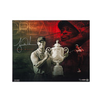 "TIGER WOODS Autographed ""Destined for Greatness"" 20 x 16 UDA LE 250"