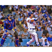 "CODY BELLINGER Autographed ""Home Run"" 16 x 20 Photograph Dodgers FANATICS"