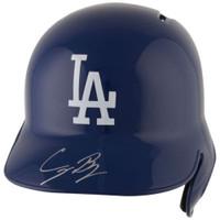 CODY BELLINGER Autographed Los Angeles Dodgers Batting Helmet FANATICS