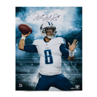 "MARCUS MARIOTA Autographed ""Stadium Series"" 16 x 20 Photo UDA"