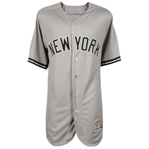 96fff5d3c AARON JUDGE Autographed Authentic New York Yankees Majestic Gray Jersey  FANATICS. Price   795.00. Image 1. Larger   More Photos