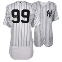 AARON JUDGE Autographed Authentic Yankees Home Pinstripe Jersey FANATICS