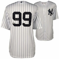 AARON JUDGE Autographed New York Yankees Home Jersey FANATICS