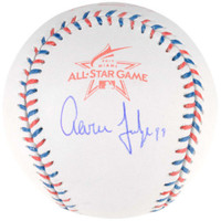 AARON JUDGE Autographed Authentic 2017 All Star Baseball FANATICS