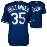 CODY BELLINGER Autographed Los Angeles Dodgers Away Jersey FANATICS
