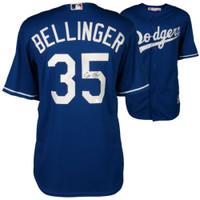 CODY BELLINGER Autographed Los Angeles Dodgers Away Jersey FANATICS