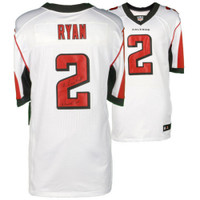 "MATT RYAN Autographed ""Matty Ice"" Authentic Falcons White Jersey FANATICS"