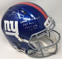 """ODELL BECKHAM JR. Autographed """"2016 Probowl"""" Proline Helmet STEINER LE 13"""