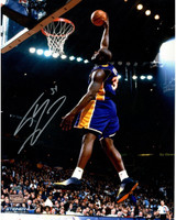 "SHAQUILLE O'NEAL Hand Signed Los Angeles Lakers ""Dunk"" 16 x 20 Photograph STEINER"