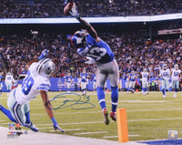 "ODELL BECKHAM Jr. Autographed Giants ""The Catch"" 16x20 Photo STEINER"