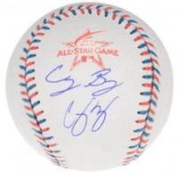 COREY SEAGER / CODY BELLINGER Autographed 2017 All Star Baseball FANATICS