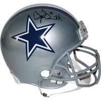 DAK PRESCOTT Autographed Dallas Cowboys Authentic Helmet STEINER