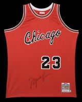 MICHAEL JORDAN Signed Chicago Bulls Rookie Jersey UDA