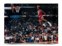 MICHAEL JORDAN Autographed 1988 Slam Dunk Photo 30 x 40 UDA