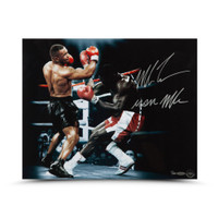 "MIKE TYSON Autographed & Inscribed ""Iron Mike"" ""Bullied"" 20 x 16 UDA LE 20"