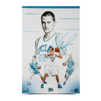"KEVIN LOVE Autographed ""Westwood Wizard"" 16 x 24 Photo UDA"