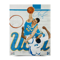 "KEVIN LOVE Autographed ""Throwdown"" 16 x 20 Photo UDA"