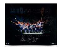 WAYNE GRETZKY Autographed Art of the Slapshot Photo UDA