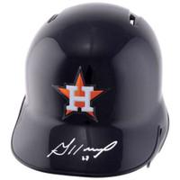 JOSE ALTUVE Houston Astros Autographed Batting Helmet FANATICS