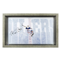 "CONNOR MCDAVID Autographed ""Great from Above"" Acrylic Display UDA"