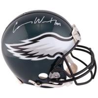 CARSON WENTZ Autographed Philadelphia Eagles Authentic Helmet FANATICS