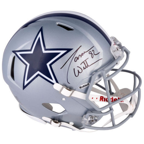 JASON WITTEN Autographed Dallas Cowboys Authentic Speed Helmet FANATICS 1d7e29e1a