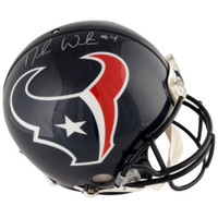 DESHAUN WATSON Autographed Houston Texans Proline Authentic Helmet FANATICS