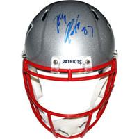ROB GRONKOWSKI Autographed New England Patriots Speed Replica Helmet STEINER
