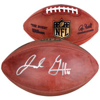 JARED GOFF Autographed Los Angeles Rams Official Duke NFL Football FANATICS