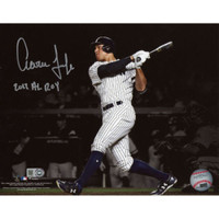 "AARON JUDGE Signed / Inscribed ""2017 AL ROY"" 16"" x 20"" Photograph FANATICS"