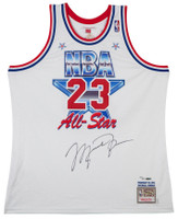 MICHAEL JORDAN Autographed 1991 NBA All Star Authentic Jersey UDA LE 123