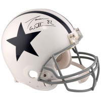 JASON WITTEN Dallas Cowboys Autographed Riddell Throwback 1960 - 1963 Pro-Line Helmet FANATICS