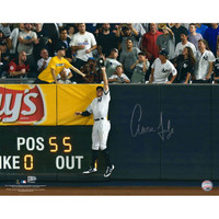 "AARON JUDGE New York Yankees Autographed 16"" x 20"" 2017 ALDS Game 3 Robbing Home Run Photograph FANATICS"