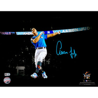 "AARON JUDGE New York Yankees Autographed 11"" x 14"" 2017 Home Run Derby Spotlight Photograph FANATICS"