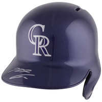 NOLAN ARENADO Colorado Rockies Autographed Replica Batting Helmet FANATICS