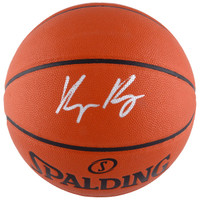 KYLE KUZMA Los Angeles Lakers Autographed Indoor/Outdoor Basketball FANATICS