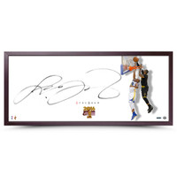 "LEBRON JAMES Autographed The Show ""The Block"" Framed UDA"