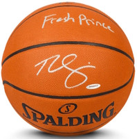 "BEN SIMMONS Autographed Inscribed ""Fresh Prince"" Authentic Basketball UDA"