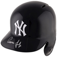 AARON JUDGE Autographed New York Yankees Batting Helmet FANATICS