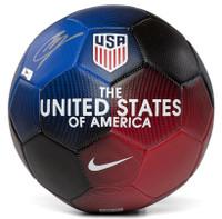 CHRISTIAN PULISIC Autographed Nike USA Prestige Soccer Ball PANINI
