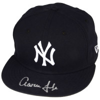 AARON JUDGE Autographed New York Yankees New Era Baseball Cap FANATICS