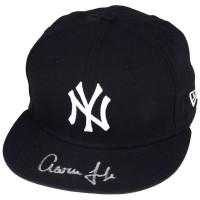 AARON JUDGE Autographed New York Yankees New Era Baseball Cap FANATICS