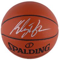KLAY THOMPSON Autographed Golden State Warriors Spalding Basketball FANATICS